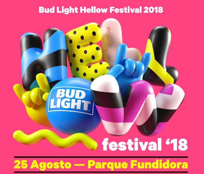 BUD LIGHT HELLOW FESTIVAL 2018  REVELA EL CARTEL DE SU NOVENA EDICIÓNGran cartel con MAROON 5, TYLER THE CREATOR Y FRENCH MONTANA y más