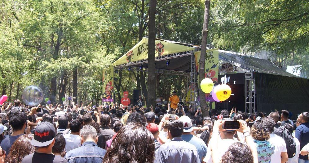 FESTIVAL MARVINEn el Parque España - Reseña