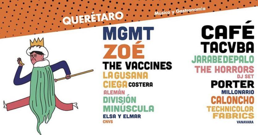 REGRESA QUERÉTA-ROCKTodo esto debido al Festival Pulso GNP que se realizará esté 2 de junio, Festival GNP - En Querétaro, apuesta por el talento local, The vaccines y MGMT en Querétaro