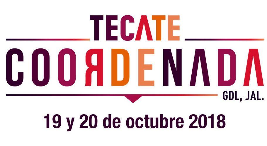 TECATE COORDENADA Llega a Guadalajara  con un gran cartel para el 19 y 20 de octubre, Festival Tecate Coordenada 2018 en Guadalajara