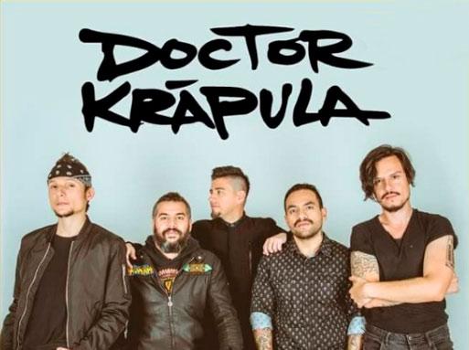 DOCTOR KRAPULACelebra sus 20 años en México con una poderosa gira, DR KRAPULA gira por México 2018,  Dr Krapula en el Tecate Comuna