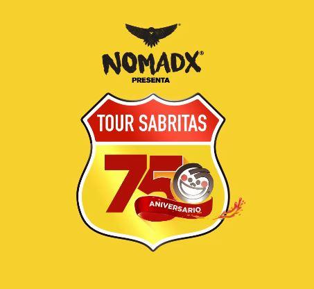 NOMADX TOURCelebra el 75 aniversario de Sabritas por 5 ciudades,    Movimiento Nomadx A.C. y Sabritas unen esfuerzos para festejar en grande el 75 aniversario de esta exitosa empresa mexicana