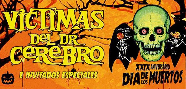 VICTIMAS DEL DR CEREBROCelebran su 29 aniversario en El Plaza Condesa, Victimas del dr cerebro en el Plaza condesa para celebrar aniversario 2018