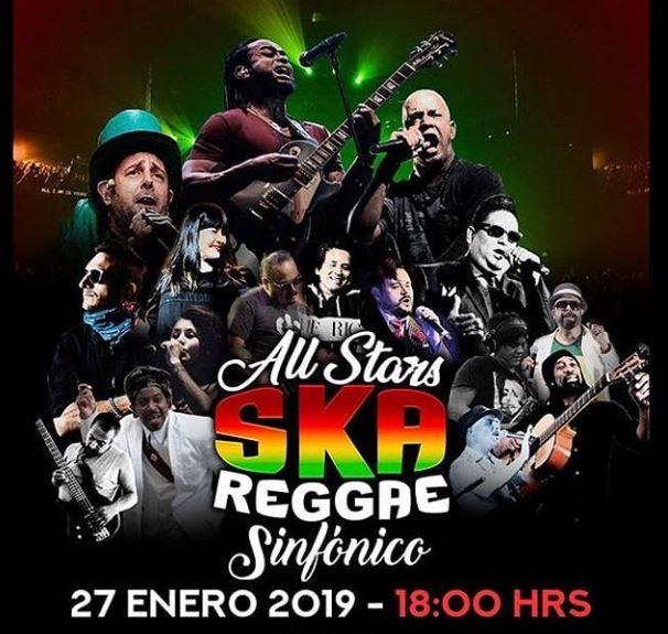 ALL STARS SKA REGGAE SINFONICOLos mejores exponentes del ska bajo un formato sinfónico en Teatro Metropolitan, Los mejores exponentes del ska y del reggae se presentan en el Teatro Metropolitan