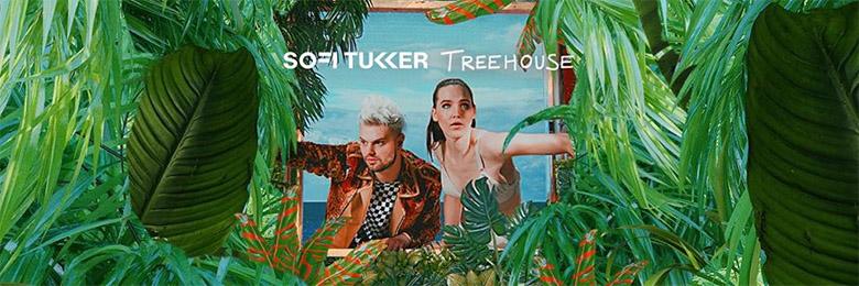 Sofi TukkerLa primera fiesta del año, Sofi Tukker, house, Plaza Condesa, Treehouse, Ciudad de México, 25 de enero