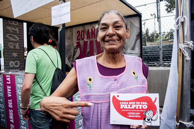 Vive Latino 2019Entrevista - La Reina de los Albures vive el Vive, Reina de los Albures, entrevista, Lourdes Ruíz, Vive Latino, Tepito, Albur, Palpito, El Tri, Javier Bátiz