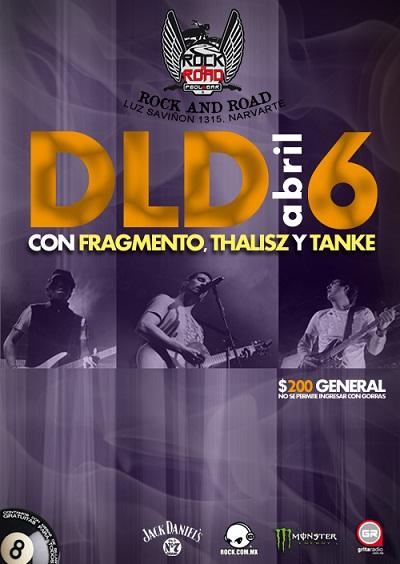 DLD Viernes 6 de AbrilRock and Road