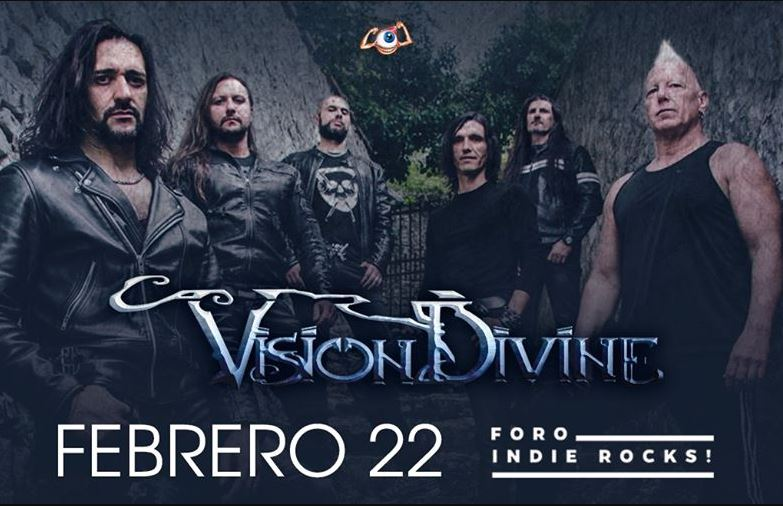 VISION DIVINERegresa a la CDMX este 22 de Febrero, VISION DIVINE: WHEN ALL THE HEROES ARE ON TOUR LIVE IN MEXICO CITY  llega al foro Indie Rocks