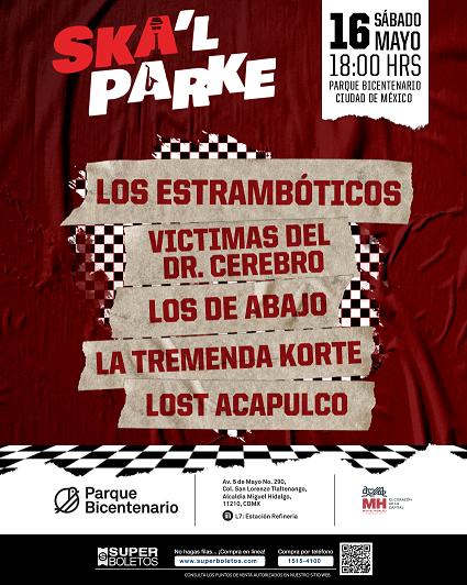 SKA´L PARKE En el parque Bicentenario ,