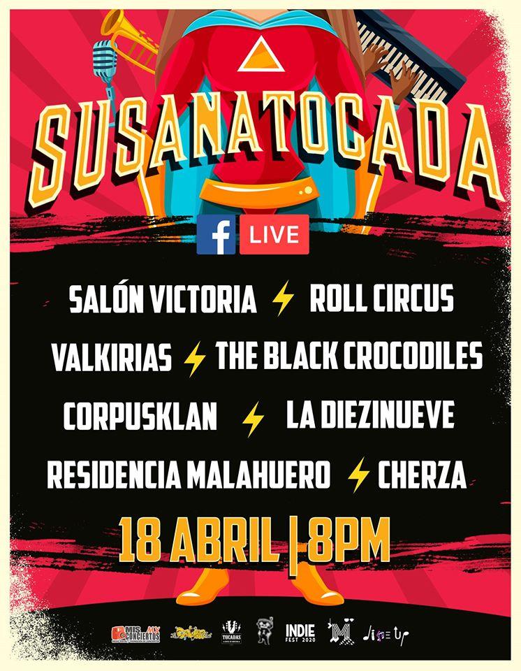 Susana Tocada ¡Gratis! Sábado 18 de abril ,