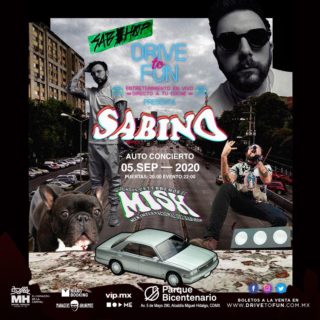 SABINO Celebra el día internacional del sab-hop, sabino se presenta en streaming