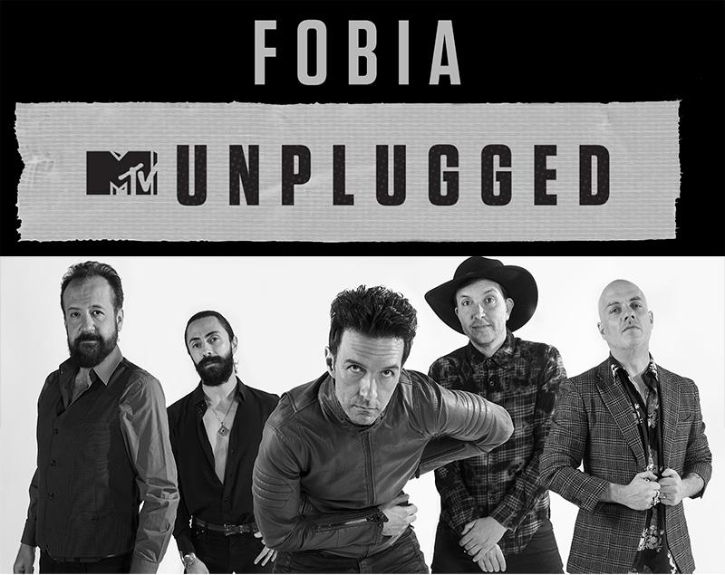 FOBIATendrá su MTV Unplugged, MTV UNPLUGGED tendrá a FOBIA como invitado