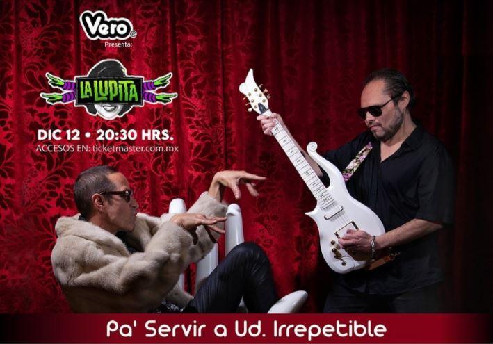 LA LUPITAocarán de principio a fin su disco Pa' Servir a Ud. + Éxitos, La Lupita dará un concierto IRREPETIBLE