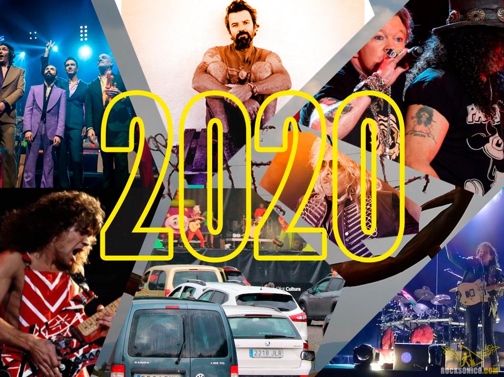 Todo lo que sucedió en el 2020 en el rock de nuestro país