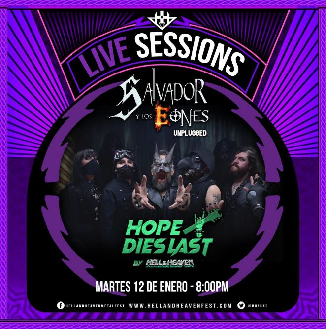 Encabeza este martes 12 de enero la Tercer fecha de 'Hope Dies Last' de Hell and Heaven Fest