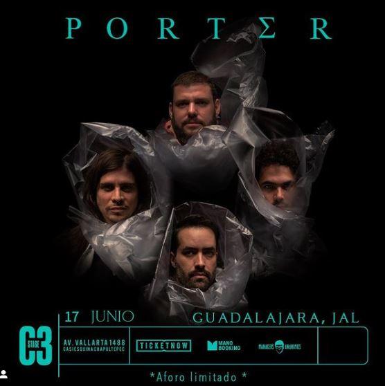 PORTEROfrecerá un show mágico en el C3 Stage, porter regresa a escenarios