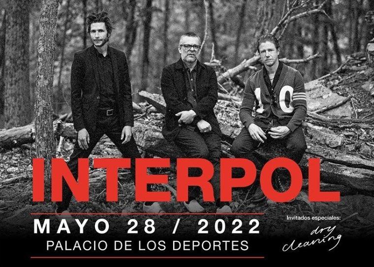 INTERPOLRegresa a la CDMX en el 2022, Luego de su gran éxito como headliners del Corona Capital en el 2019