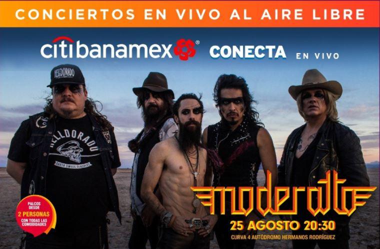 MODERATTOOfrecerá un poderoso show en la CDMX, Darán un energético repaso musical por sus 20 años dentro de la escena del rock and roll
