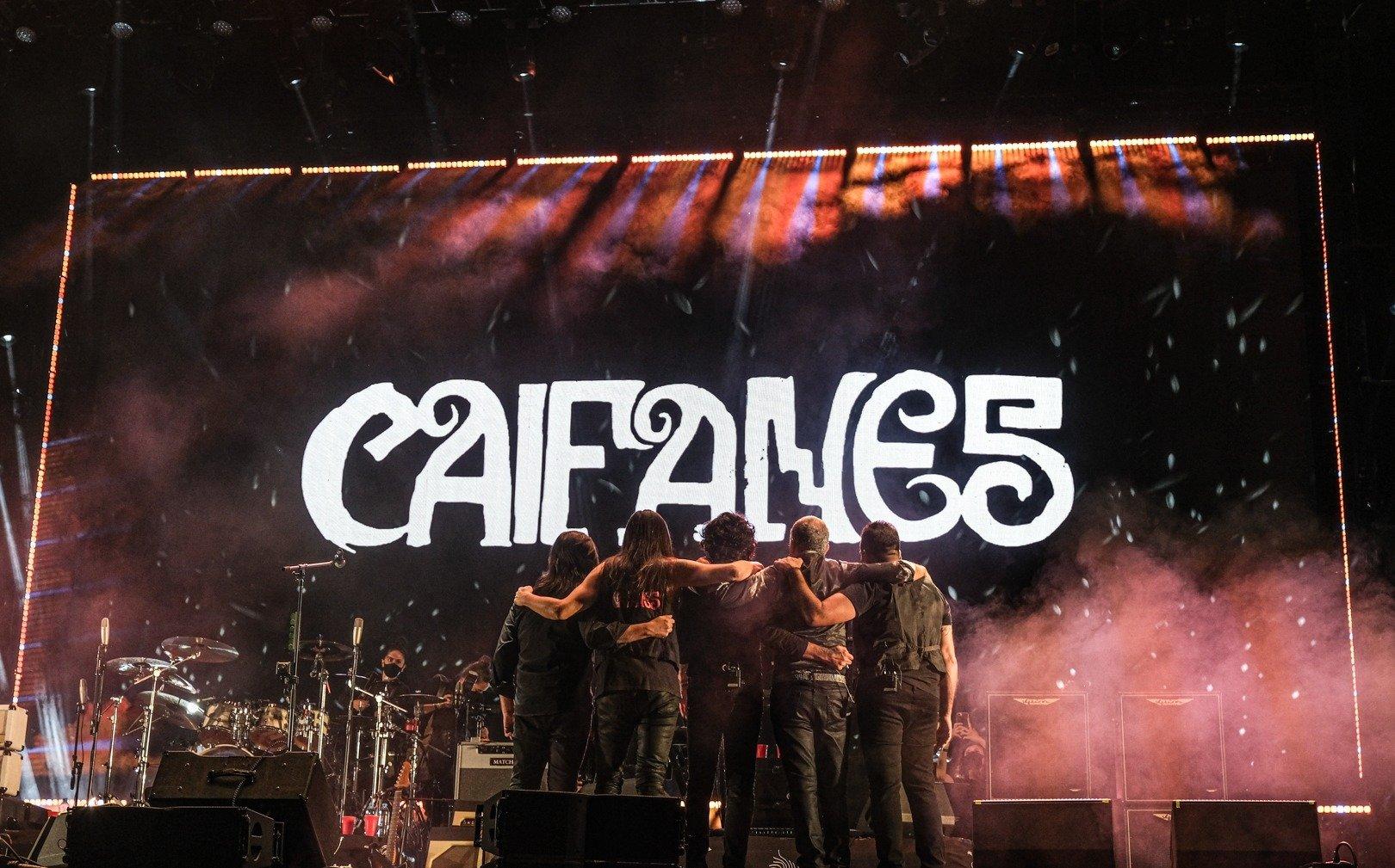 CAIFANESAnuncia gira nacional 2022, Caifanes se presentarán en importantes plazas de la República Mexicana en el 2022