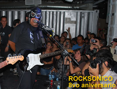 8vo ANIVERSARIO ROCKSONICO.COMReseña - Pasagüero