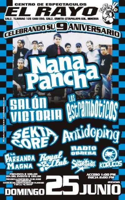 Nana Pancha Noveno Aniversario