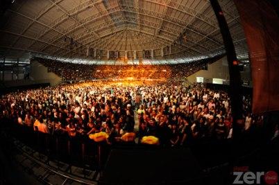 BABASONICOS Y PLACEBOEn El concierto Gratuito de Coca Cola Zero
