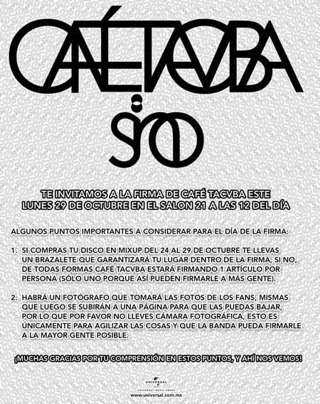 FIRMA DE CAFE TACVBALUNES 29 OCTUBRE,