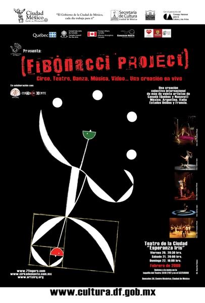 THE 7 FINGERS, ARTCIRQ Y CIRKO DE MENTEPresentan el Proyecto Fibonacci,