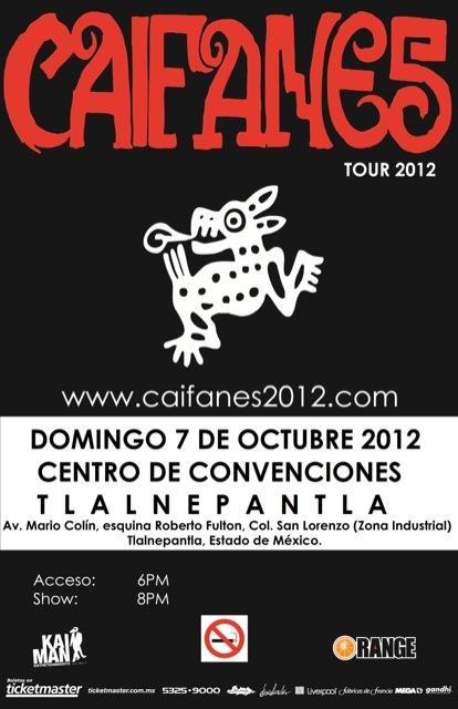 CAIFANES 7 OctCentro Convenciones Tlalnepantla,