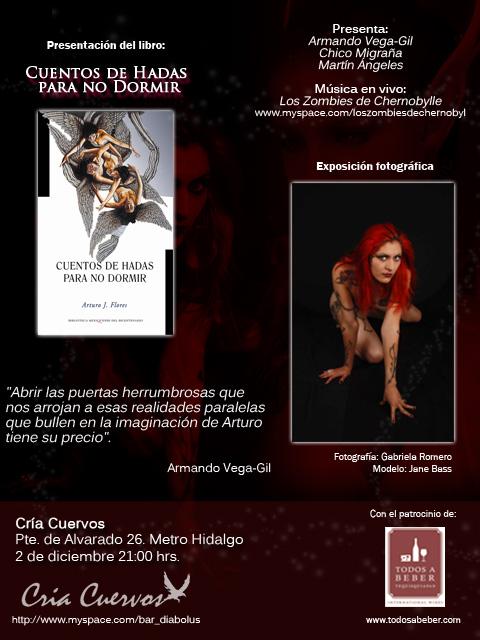 CUENTOS DE HADAS PARA NO DORMIRPresentación de libro