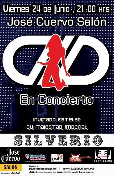 DLD Concierto 24 Junio, José Cuervo Salón,