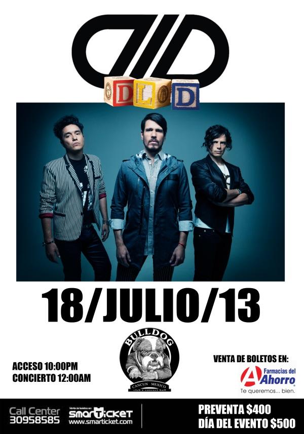 DLDEn el BullDog Café / 18 de Julio / Último Show en el D.F.,