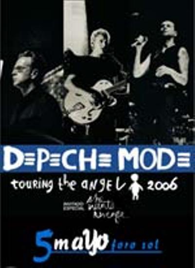 Depeche Mode en México4 y 5 de Mayo 2006 - Foro Sol,