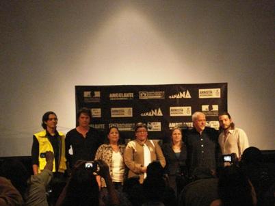 PETER GABRIEL, SAÚL HERNANDEZ Y DIEGO LUNAEn conferencia