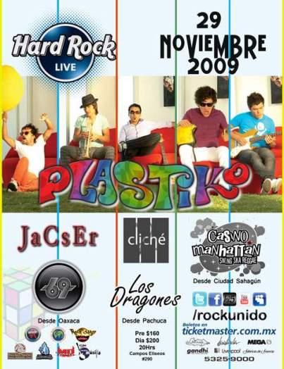 PLASTIKOEn el Hard Rock Live,