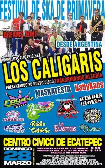LOS CALIGARISCentro Cívico de Ecatepec,