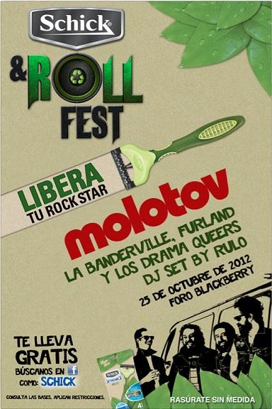 MOLOTOV En el Schick & roll festival