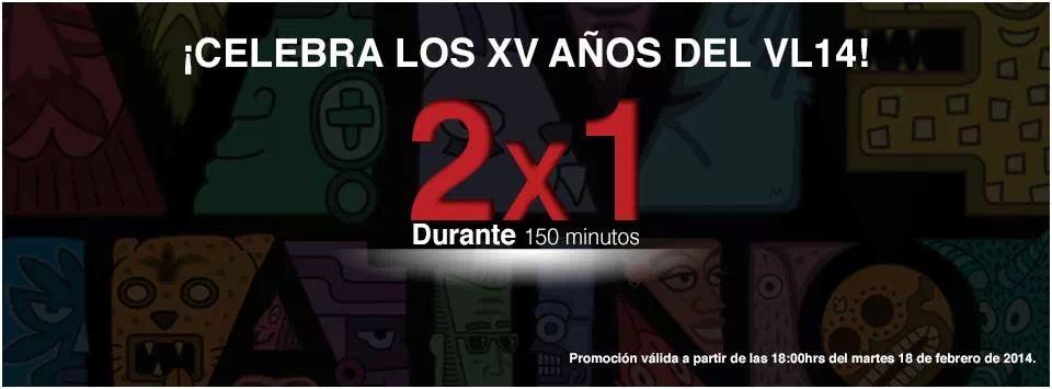 EL VIVE LATINO AL 2x1PROMOCION POR SUS XV AÑOS