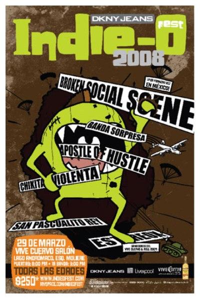 INDIE -0 FEST 2008En el Vive Cuervo salón,