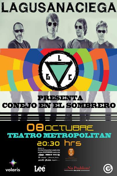 GANADORES BOLETOS  GUSANA CIEGA 8 oct  Teatro Metropolitan