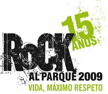 ROCK AL PARQUE - 15 AÑOS27,28 y 29 de Junio