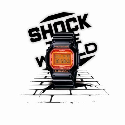 SHOCK THE WORLD TOURTe regalan un reloj,