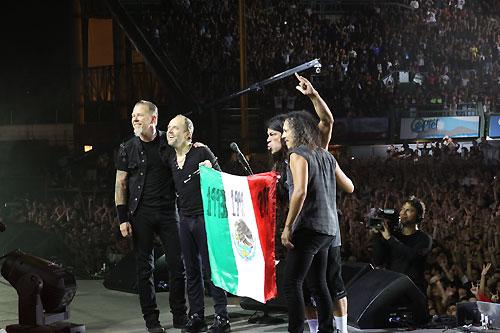 METALLICA REGRESA A MEXICO28 y 30 Jul, 1,2,4,6,7 y 9 de Agosto - Palacio de los Deportes,