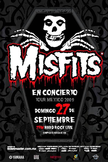 MISFITSCierre de Tour México 2009