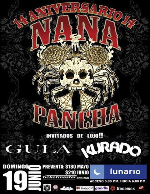 NANA PANCHA14 Aniversario / Lunario / 19 de Junio,