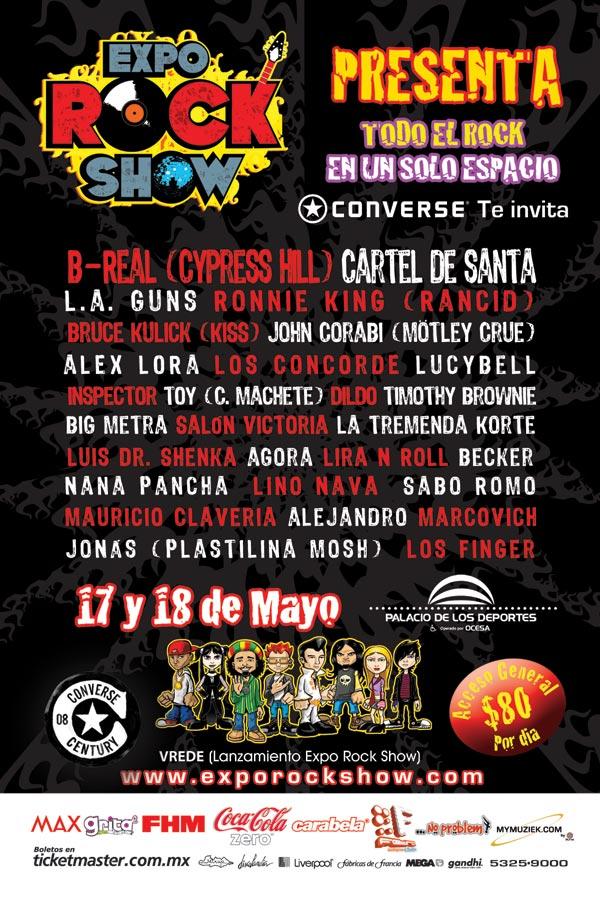 EXPO ROCK SHOW17 y 18 de MAYO