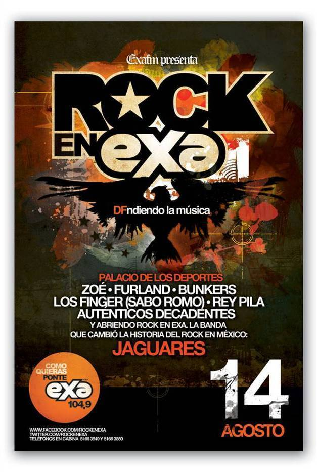 ROCK EN EXA 201014 Agosto - Palacio de los Deportes