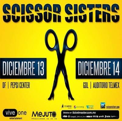 SCISSOR SISTERSEn México