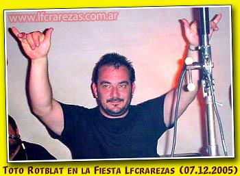 LUTO CADILLAC.deceso de Gerardo Toto Roblat