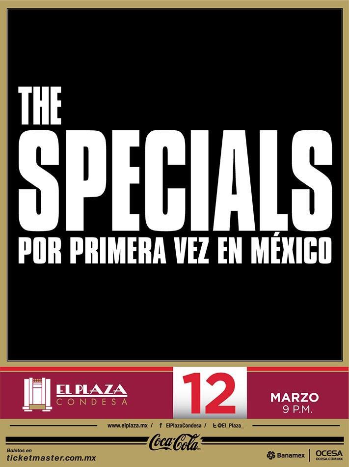 THE SPECIALSEn el Plaza Condesa - 12 Marzo,